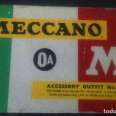 Juegos construcción - Meccano: MECANO MADE IN ENGLAND. CAJA NUM 0A. Lote 77319393