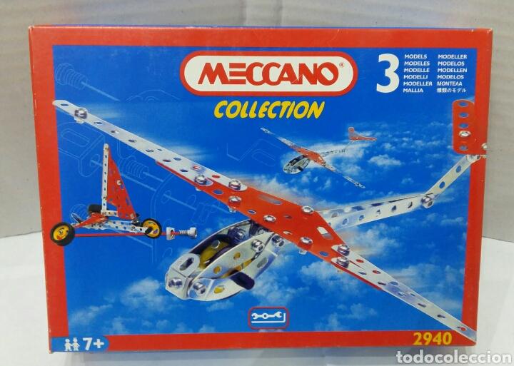 MECCANO COLLECTION. NUEVO EN CAJA. REF 2940. 1995. 3 MODELOS. (Juguetes - Construcción - Meccano)