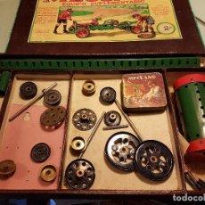 Juegos construcción - Meccano: CAJA MECCANO NUM 2A . Lote 80202249