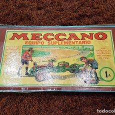 Juegos construcción - Meccano: CAJA MECCANO EQUIPO 1A . Lote 80726234