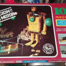 Juegos construcción - Meccano: MECCANO 10 METALING INCOMPLETO. Lote 80829446