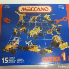 Juegos construcción - Meccano: MECCANO. Lote 84912032