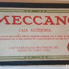 Juegos construcción - Meccano: ANTIGUO MECCANO CAJA ACCESORIA 3A. Lote 85476784