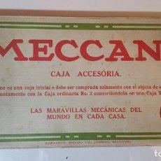Juegos construcción - Meccano: ANTIGUO MECCANO CAJA ACCESORIA 2A. Lote 85476908
