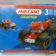 Juegos construcción - Meccano: MECCANO COLLECTION. COCHE. NUEVO EN CAJA. REF 2930. 1995. 3 MODELOS.. Lote 85792656