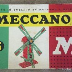 Juegos construcción - Meccano: CAJA MECCANO 3. Lote 86535112