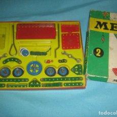 Juegos construcción - Meccano: LOTE DE CAJAS DE MECCANO, CASI COMPLETAS DEL. Lote 87534124