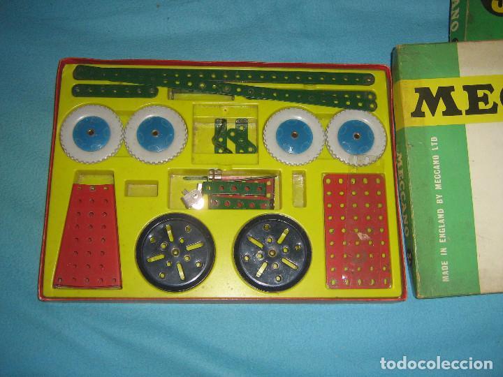 Juegos construcción - Meccano: lote de cajas de meccano, casi completas del - Foto 3 - 87534124