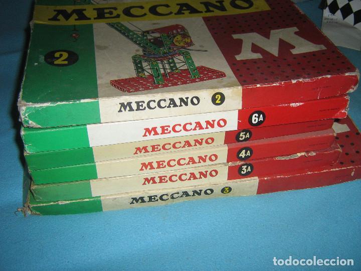 Juegos construcción - Meccano: lote de cajas de meccano, casi completas del - Foto 8 - 87534124