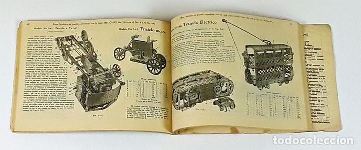 Juegos construcción - Meccano: CAJA CON PIEZAS DE MECCANO CON GRAN CANTIDAD DE PIEZAS. METAL. FRANCIA. CIRCA 1920. - Foto 4 - 91134355