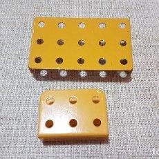 Juegos construcción - Meccano: PLACAS MECCANO. Lote 93284815