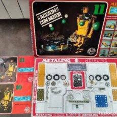 Juegos construcción - Meccano: ANTIGUA CAJA MECCANO CASA POCH MADE IN SPAIN. Lote 95721583