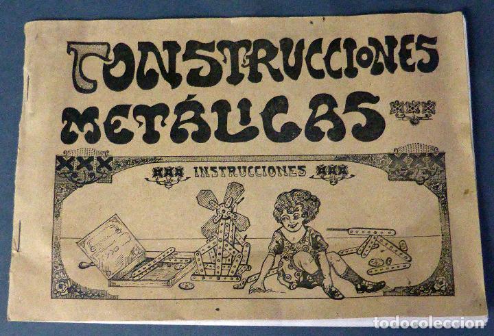 CATÁLOGO CONSTRUCCIONES METÁLICAS TRIX MECCANO AÑOS 20 - 30 (Juguetes - Construcción - Meccano)