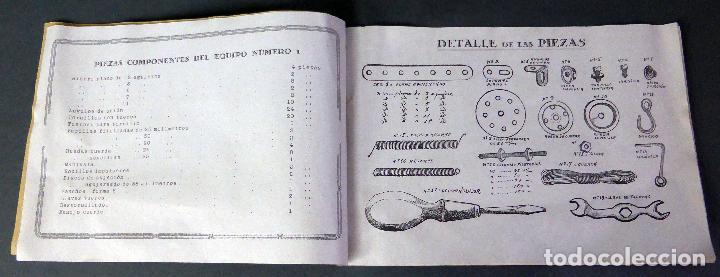 Juegos construcción - Meccano: Catálogo Construcciones metálicas Trix Meccano años 20 - 30 - Foto 3 - 97607867