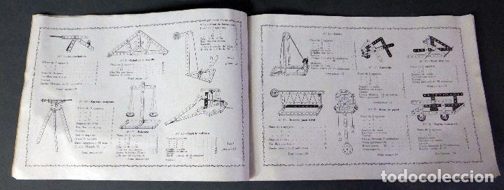 Juegos construcción - Meccano: Catálogo Construcciones metálicas Trix Meccano años 20 - 30 - Foto 4 - 97607867
