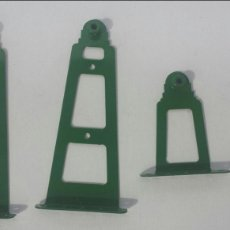 Juegos construcción - Meccano: PALOS PARA TRANSMISION MECCANO PIEZAS 177 Y 178. Lote 97675675