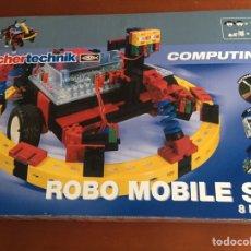 Juegos construcción - Meccano: FISCHER TECHNIK-COMPUTING-ROBO MOBILE SET REF.: 93292. Lote 97932366