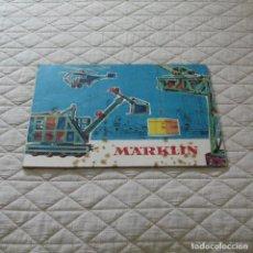 Juegos construcción - Meccano: MANUAL INSTRUCCIONES MECCANO DE MARKLIN.. Lote 97936223