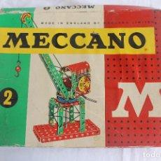 Juegos construcción - Meccano: MECCANO Nº 2, MADE IN ENGLAND, DE POCH. S.A. METALICO CON INSTRUCCIONES.. Lote 97997303