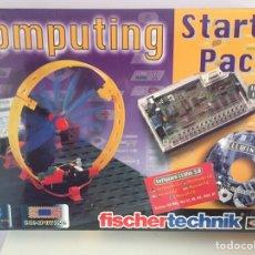 Juegos construcción - Meccano: FISCHER TECHNIK-STARTER PACK COMPUTING. Lote 98062019