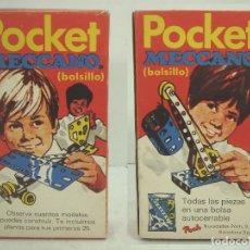 Juegos construcción - Meccano: ANTIGUA CAJA MECCANO POCKET- DE POCH SPAIN 1974 ¡¡NUEVO SIN USO¡¡ BOLSILLO MECANO MEKANO JUEGO. Lote 98763283