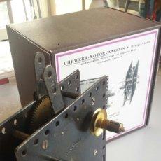 Juegos construcción - Meccano: MOTOR A CUERDA MARKLIN TIPO MECCANO . Lote 98912923