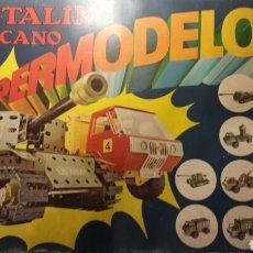 Juegos construcción - Meccano: CAJA MECCANO METALING 17 AÑOS 70. Lote 98985442