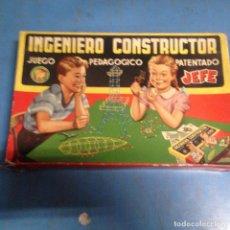 Giochi costruzione - Meccano: ANTIGUO JUEGO DE CONSTRUCCION EL INGENIERO CONSTRUCTOR DE JEFE SALUDES NUM 2000 CAJA PEQUEÑA. Lote 99095619