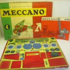 Juegos construcción - Meccano: CAJA CONSTRUCCIONES MECCANO 4, DE NOVEDADES POCH. Lote 102275387