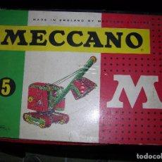 Juegos construcción - Meccano: MECCANO Nº5 MADE ENGLAND VER FOTOS ADICIONALES. Lote 103439195