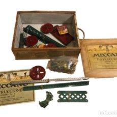 Juegos construcción - Meccano: CAJA DE MECANO Nº 2, IMPRESO EN INGLATERRA.. Lote 103656267