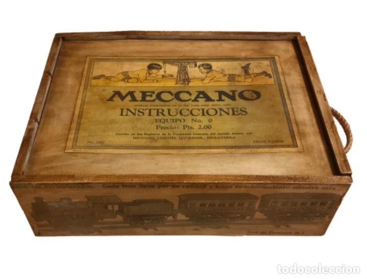 Juegos construcción - Meccano: caja de mecano nº 2, impreso en Inglaterra. - Foto 2 - 103656267