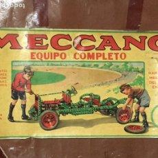 Juegos construcción - Meccano: ANTIGUO JUEGO MECANO EQUIPO COMPLETO NÚMERO 3 -. Lote 104442062