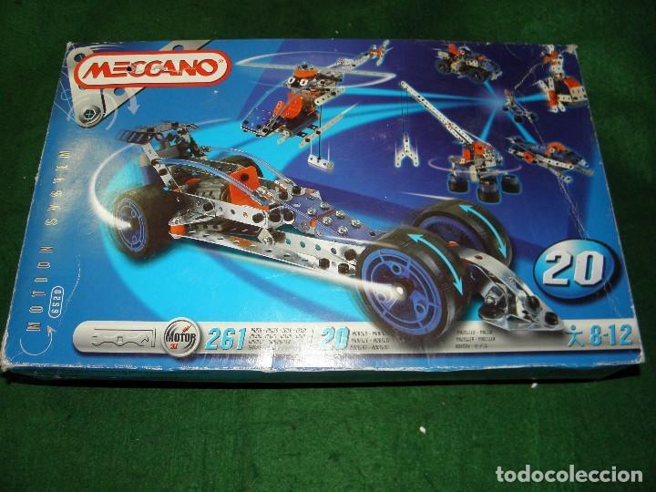 MECCANO 20 MODELOS REF. 6520 (Juguetes - Construcción - Meccano)