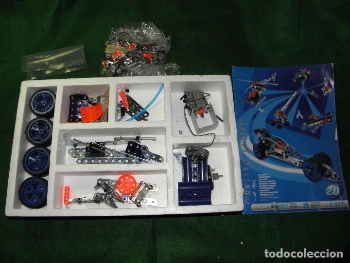 Juegos construcción - Meccano: MECCANO 20 MODELOS REF. 6520 - Foto 2 - 105138183