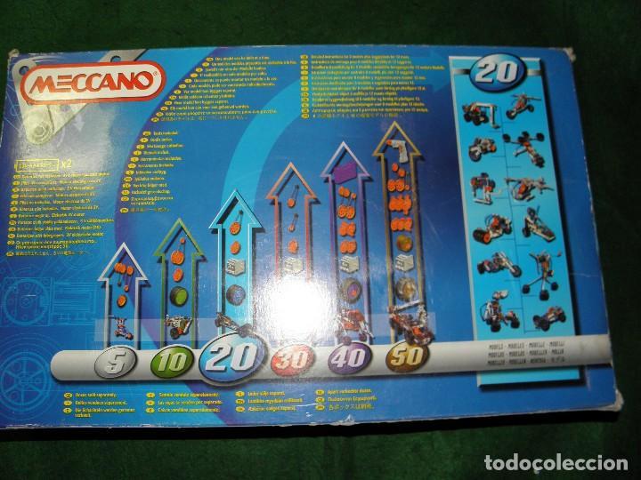 Juegos construcción - Meccano: MECCANO 20 MODELOS REF. 6520 - Foto 10 - 105138183