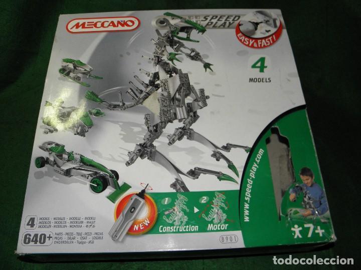 MECCANO 8901 4 MODELOS T-REX (Juguetes - Construcción - Meccano)