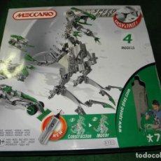 Juegos construcción - Meccano: MECCANO 8901 4 MODELOS T-REX. Lote 105138455
