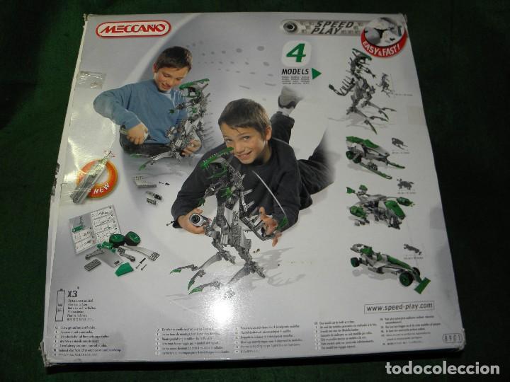 Juegos construcción - Meccano: MECCANO 8901 4 MODELOS T-REX - Foto 3 - 228599386