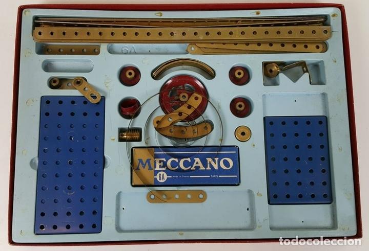 Juegos construcción - Meccano: JUEGO DE CONSTRUCCIÓN MECCANO. NUMEROS 6 Y 6A. EDICIÓN FRANCESA. CIRCA 1960. - Foto 3 - 105427967