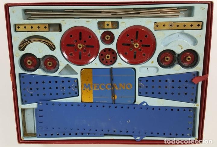 Juegos construcción - Meccano: JUEGO DE CONSTRUCCIÓN MECCANO. NUMEROS 6 Y 6A. EDICIÓN FRANCESA. CIRCA 1960. - Foto 4 - 105427967