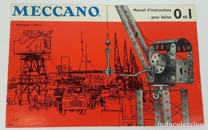 Juegos construcción - Meccano: JUEGO DE CONSTRUCCIÓN MECCANO. NUMEROS 6 Y 6A. EDICIÓN FRANCESA. CIRCA 1960. - Foto 7 - 105427967