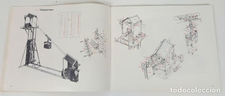 Juegos construcción - Meccano: JUEGO DE CONSTRUCCIÓN MECCANO. NUMEROS 6 Y 6A. EDICIÓN FRANCESA. CIRCA 1960. - Foto 8 - 105427967