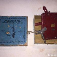 Juegos construcción - Meccano: MOTOR CUERDA MECCANO. Lote 105842463