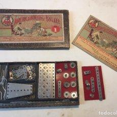 Juegos construcción - Meccano: THE AMERICAN MODEL BUILDER Nª1 (TIPO MECCANO). Lote 105842719
