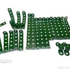 Juegos construcción - Meccano: LOTE TIRAS ACODADAS MECCANO ( 23 PIEZAS). Lote 105853543