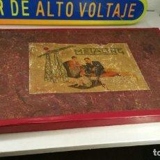 Juegos construcción - Meccano: MECCANO METALING ESPAÑOL Nº 2 - CON CAJA - AÑOS 1920 - LIBROS 00-0 Y 1-2 CASI COMPLETO. Lote 106957007