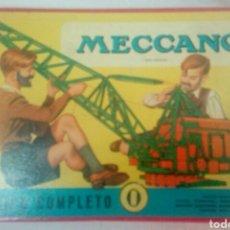 Juegos construcción - Meccano: MECCANO 0. Lote 107916534