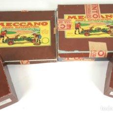 Juegos construcción - Meccano: MECCANO. JUEGO DE CONSTRUCCIÓN. EQUIPOS SUPLEMENTARIOS. ESPAÑA. CIRCA 1940.. Lote 109449311