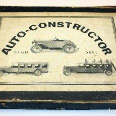 Juegos construcción - Meccano: ANTIGUO JUEGO AUTO CONSTRUCTOR - PUJOL & SANCHEZ CANO - BARCELONA - AÑOS 30. Lote 110010807